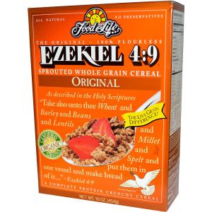 Ezekiel sprouted whole grain cereal