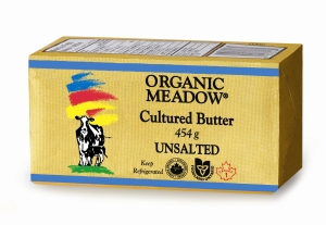 Organic Meadows Cultured Butter