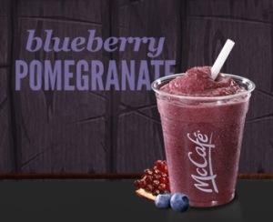 McDonalds Blueberry Pomegranate Smoothie