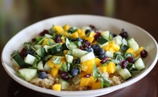 Quinoa blueberry mango salad_Krystaslifeinfood