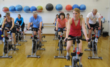 Spin class_East Boulder Community Center