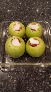 Baked apples - precooked