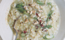 Barley Risotto with Asparagus_Epicurious