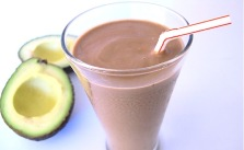Chocolate avocado smoothie_seriouseats