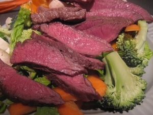 Steak and broccoli_Ben Ward