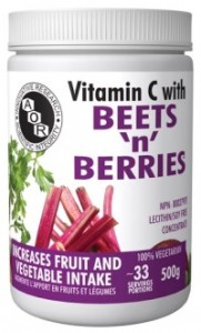 AOR Vitamin C with Beets Berries