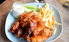 Chicken wings and fries_Alpha