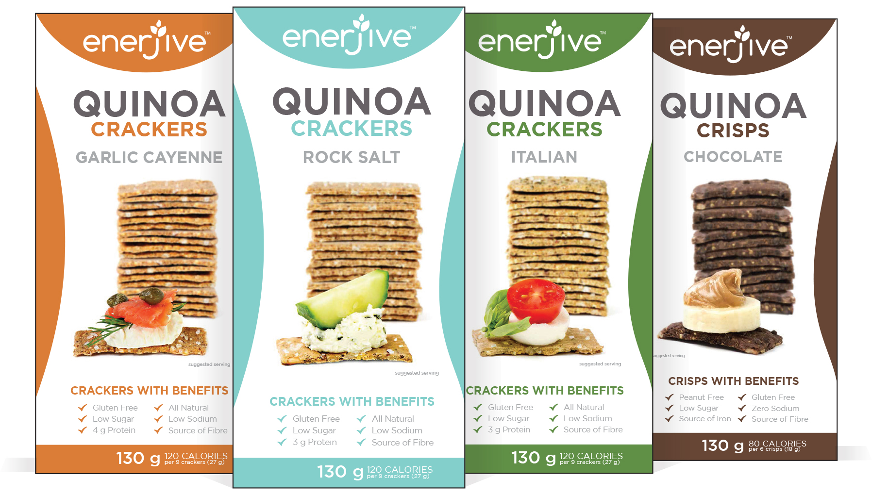 Product Review: enerjive™ Quinoa Crackers – Italian | Doug Cook
