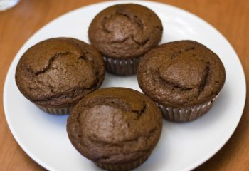 Gingerbread muffins made with molasses
