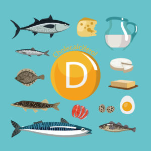 Food sources of vitamin D fish milk cheese eggs - by Doug Cook RD