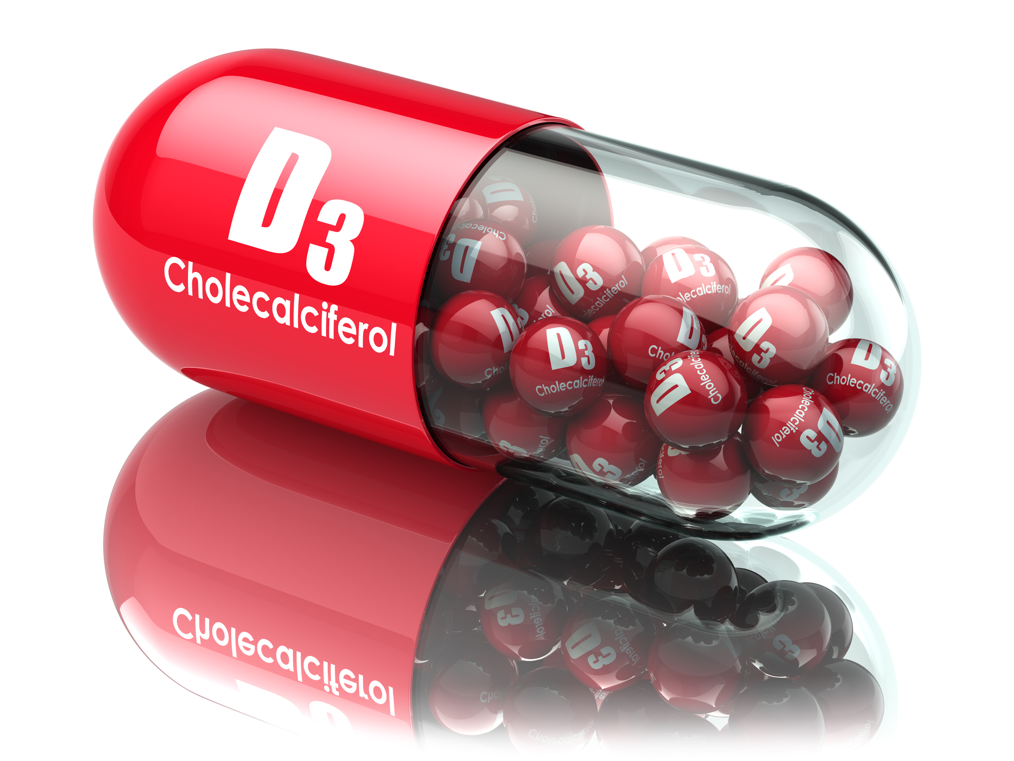 Vitamin D supplement. Cholecalciferol