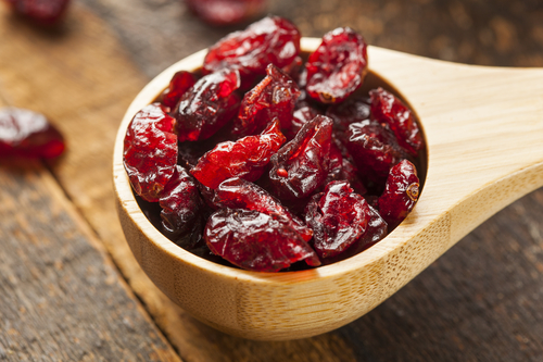 Dried Cranberries in a Bowl - by Doug Cook RD