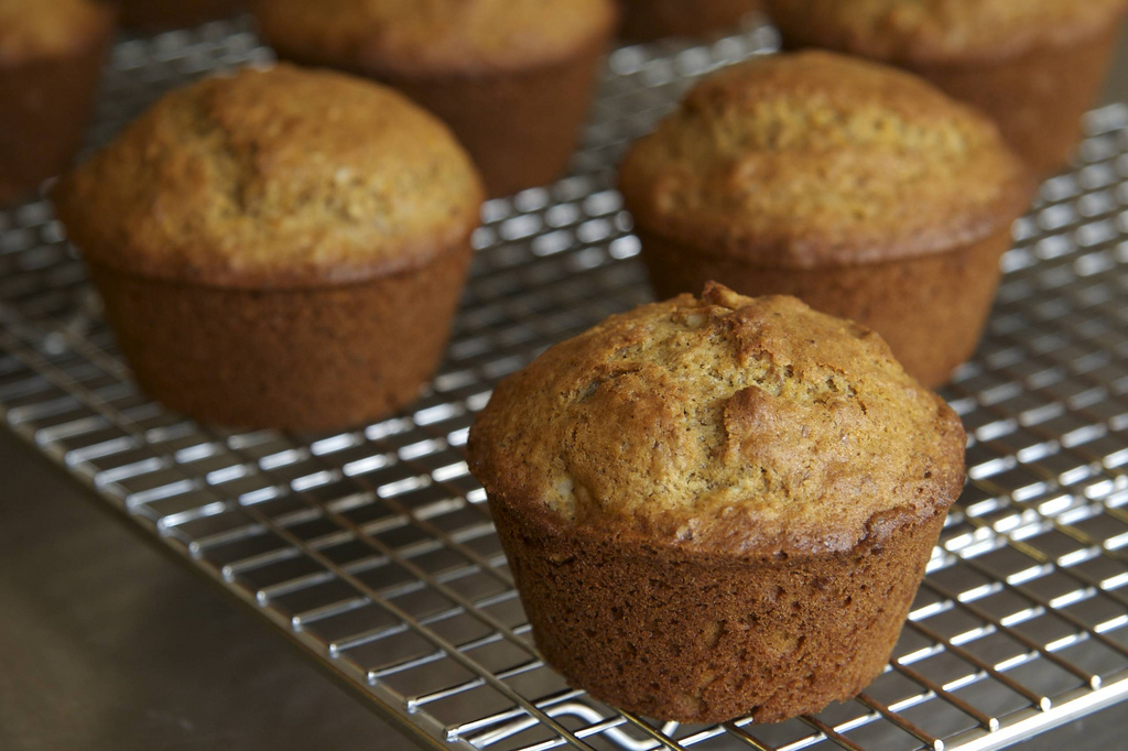 Orange Bran Flax Muffin - Orange Bran Flax Muffins