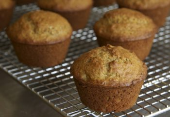 Bran orange muffins with whole wheat