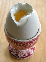 Soft boiled egg Laura - Vegan? It's More Than B12 And Zinc That's At Risk