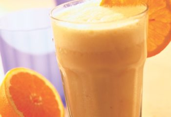 Creamsicle orange smoothie