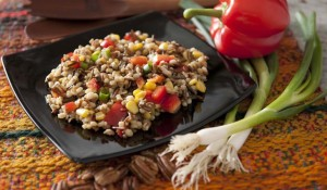 Asian Barley and Wild Rice Salad