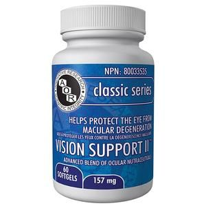 AOR vision support supplement