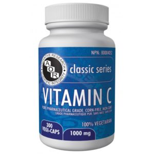 AOR Vitamin C 300x300 - Getting More Vitamin C. What's The Evidence?