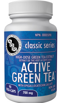 Green tea supplement by AOR Cananda