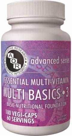 AOR Multi Basics 3 - Diet, Nutrients, Telomeres And Longevity