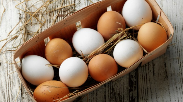Eggs brown and white - Getting enough protein. Is it all about timing?