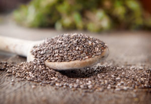 Chia seeds spoon 300x206 - Upgrade Your Smoothies & Protein Shakes