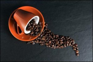 Coffee cup and beans 300x199 - Caffeine And Mood