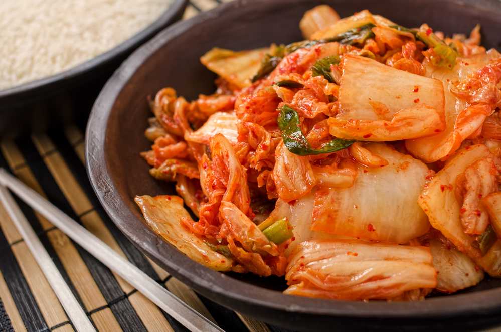 A bowl of traditional Korean kimchi - by Doug Cook RD