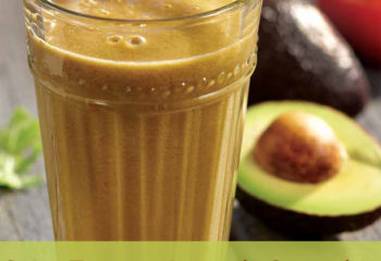 Avocado smoothie with tomato