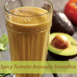 Spicy Tomato Avocado Smoothie 300x300 - Spicy Tomato Avocado Smoothie