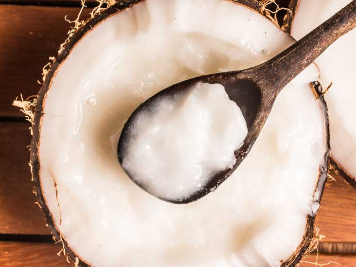 AN367 coconut oil spoon 732x549 Thumb - Caprylic Acid Benefits. Candida Albican Fighter