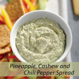 pineapple cashew chili pepper spread 1 300x300 - Pineapple Cashew and Chili Pepper Spread