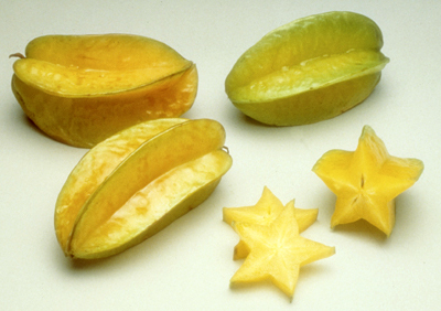 Starfruit - 5 Tropical Fruits You Should Add To Your Diet Today