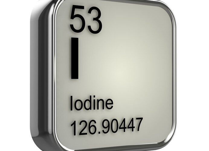 Iodine atomic number and iodine mass - by Doug Cook RD