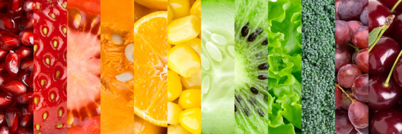 Fruit and veg banner 795x265 - Does Your Gut Health Affect Your Skin?