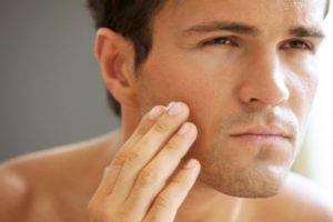Skin health man 300x200 - Does Your Gut Health Affect Your Skin?