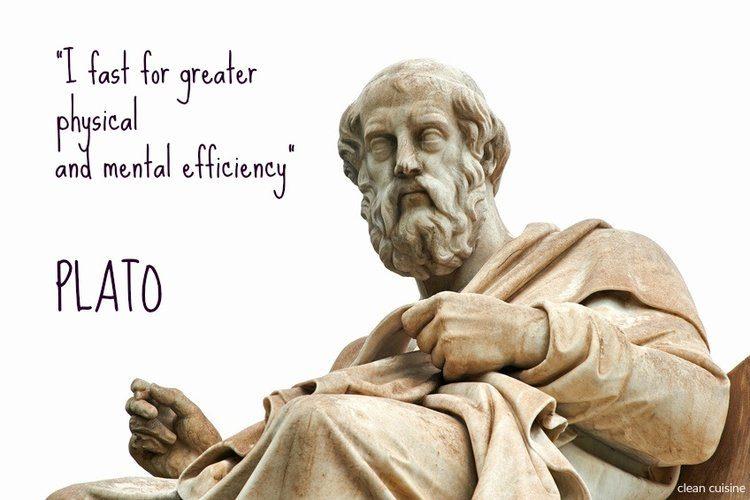 Plato - fasting quote