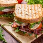Sandwich chicken avocado alfalfa 150x150 - Chicken Avocado Club Sandwich