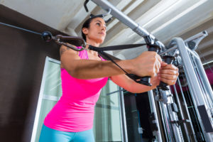 Weight lifting cable fly 300x200 - Why We Should All Be Lifting Weights