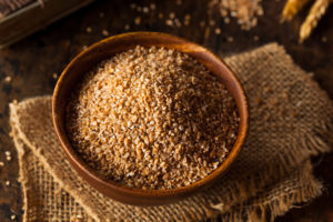 Raw Organic Whole Grain Cracked Wheat in a bowl - by Doug Cook RD