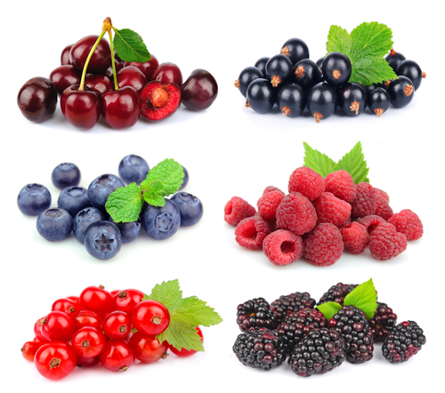 Berries variety - Do Antioxidants Impact Athletic Training?