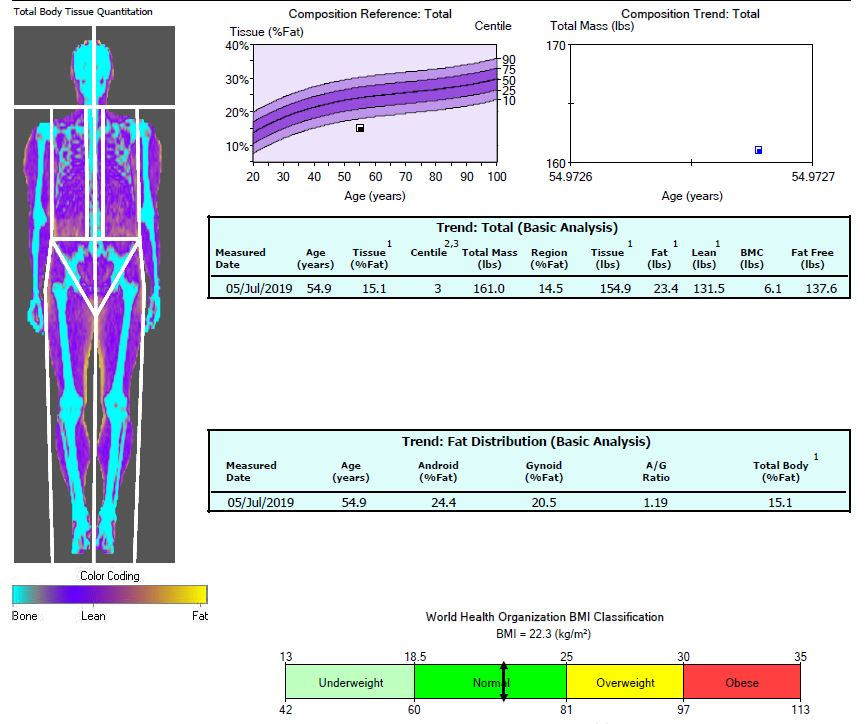 DEXA and BMI - Are You Skinny Fat?