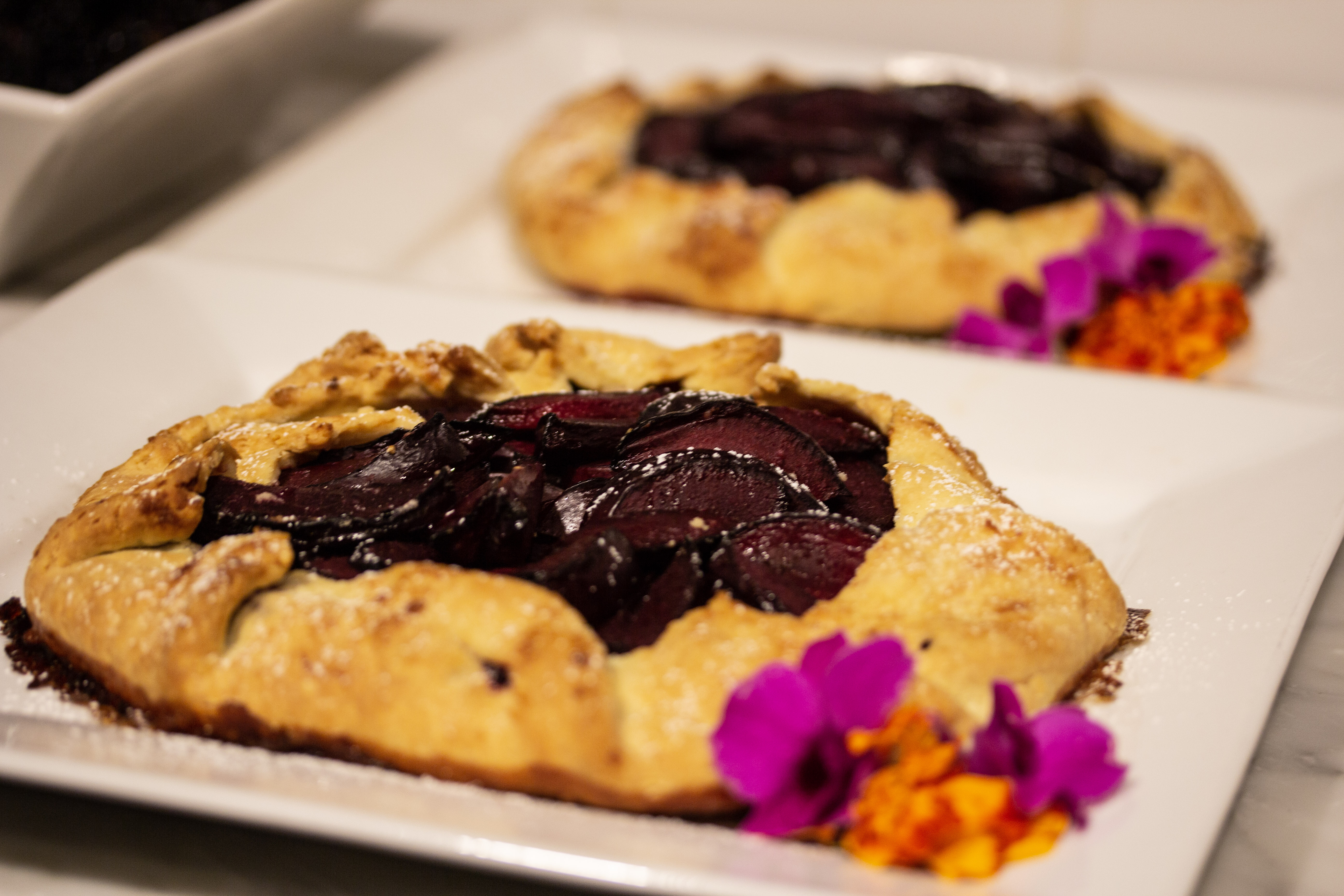 Plum Almond Galette - The Sweet Spot Workshop