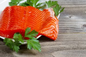 Sockeye Salmon on a wooden table 300x200 - Sockeye Salmon. One Of The Original Superfoods