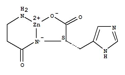 Zinc carnosine molecular structure