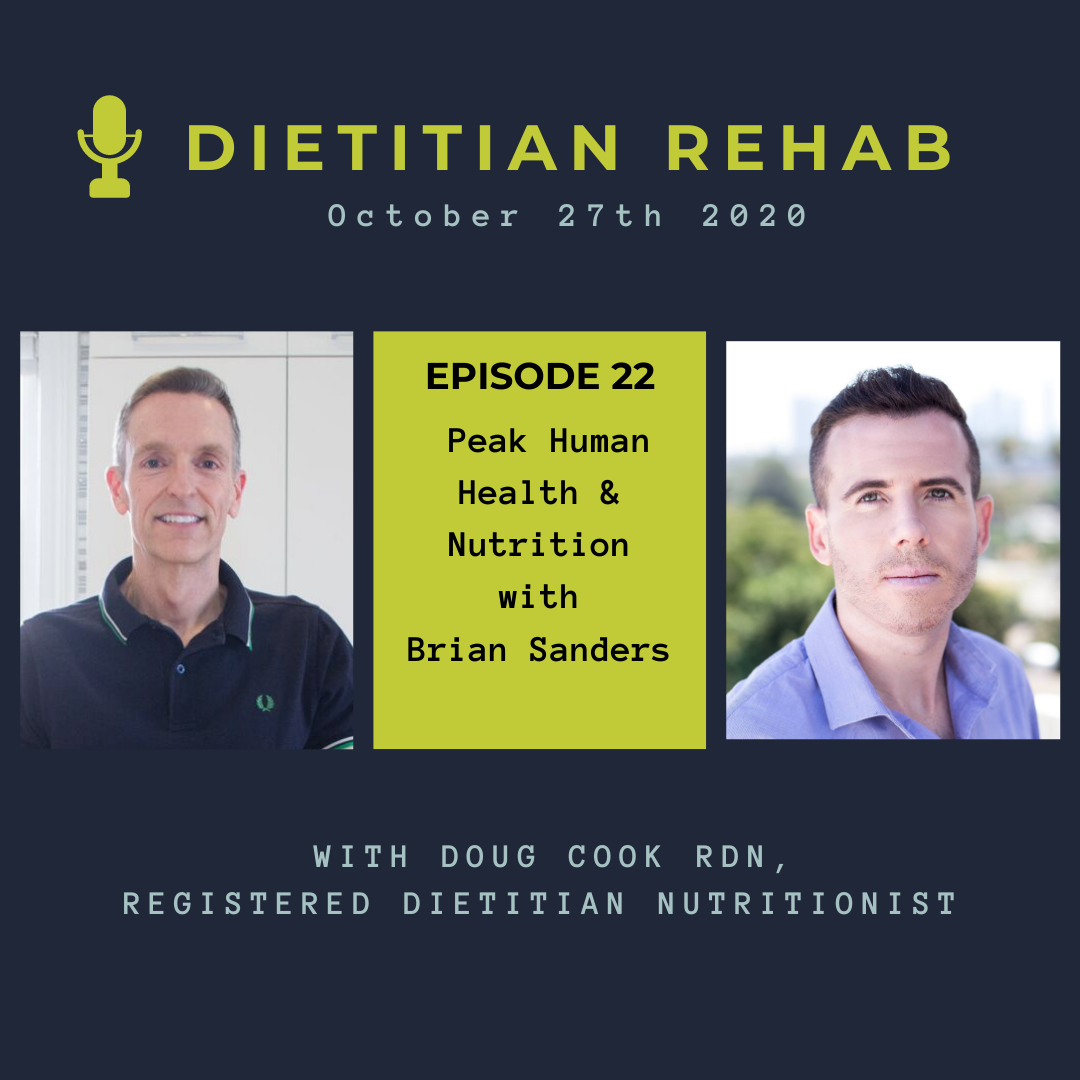 Ancestral Diet with Brian Sanders - by Doug Cook RD