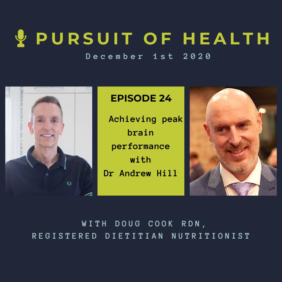 Podcast Title Slides 1 - #024 Achieving Peak Brain Performance