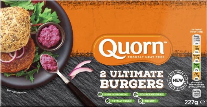 Quorn Ultimate Burger - Are Quorn Vegan Products Healthy?