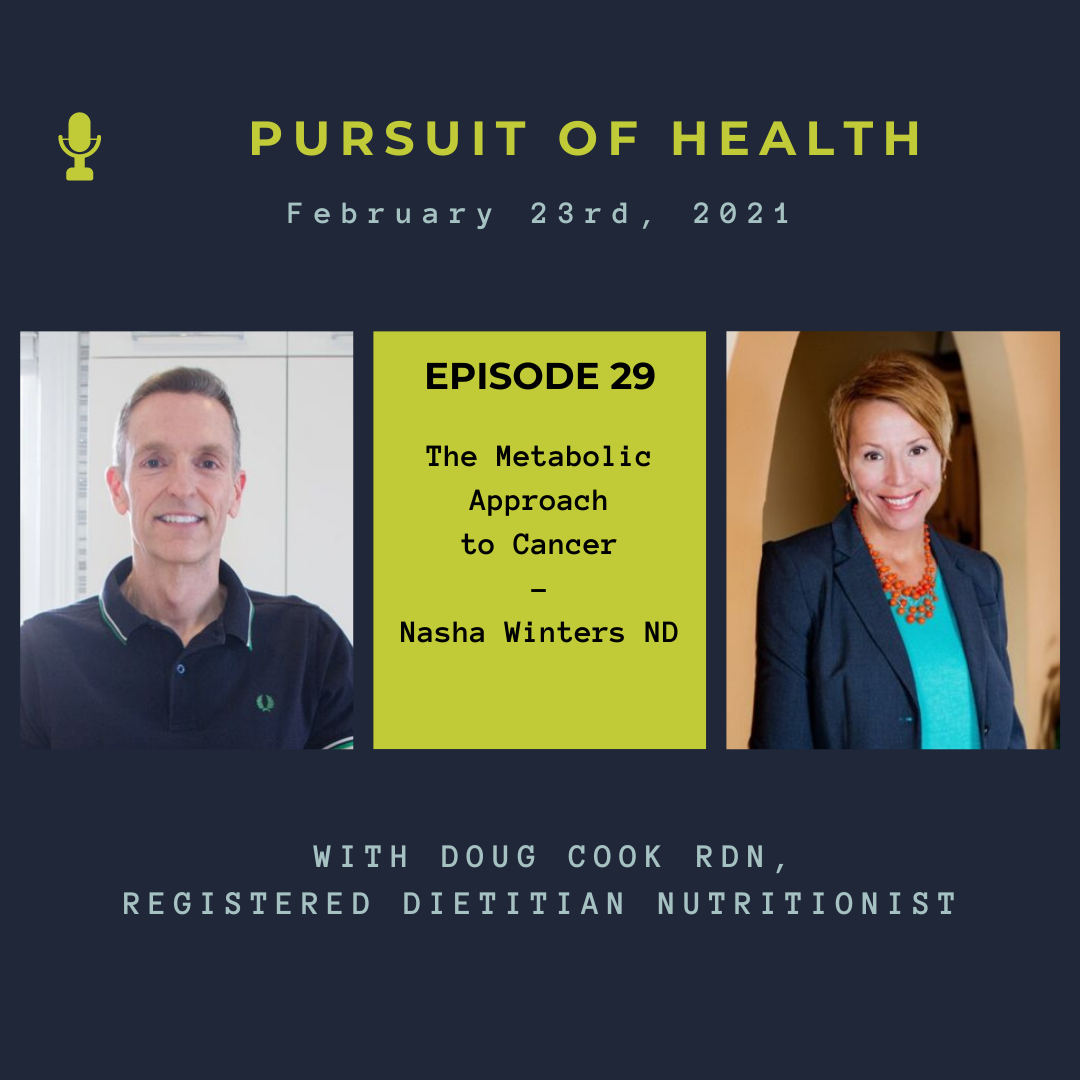 Metabolic Approach to Cancer with Nasha Winters - by Doug Cook RD